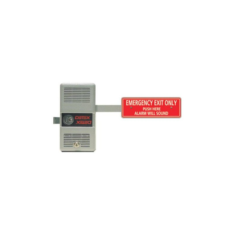 Detex Exit Alarm Panic Bar Exit Device Crash Alarm
