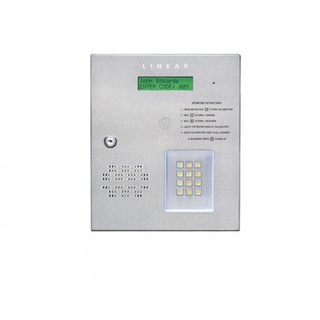Linear Telephone Entry System Apartment Access