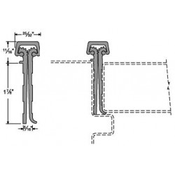 Full Mortise Continuous Hinges