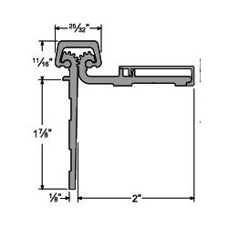 Half Surface Continuous Hinges