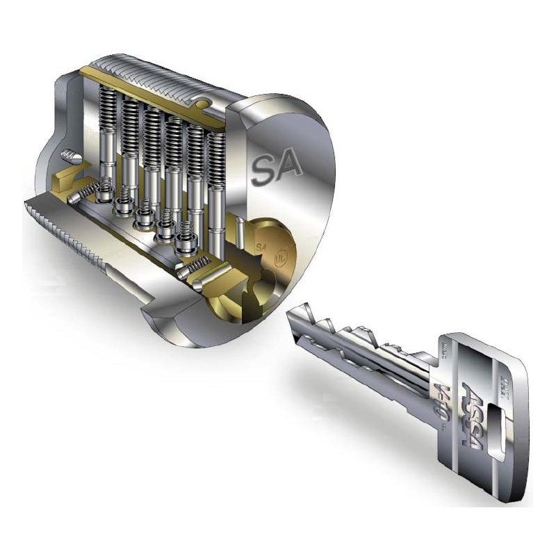 Assa High Security Lock Deadbolt Padlock Key Twin