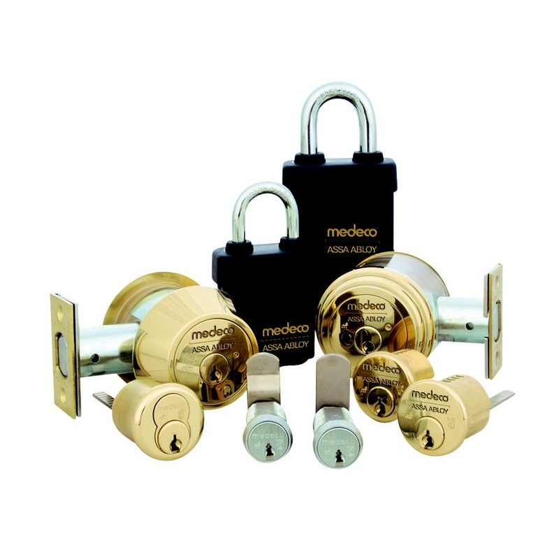 Medeco High Security Lock Deadbolt Cylinder Padlock