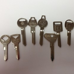 Antique Automotive Keys