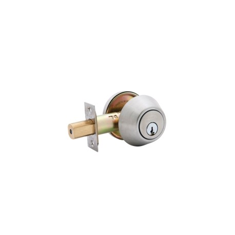 LSDA Grade 3 Residential Deadbolt with Removable Cylinder - Stainless Steel
