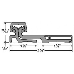 Full Surface Continuous Hinge