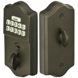 Emtek Pushbutton Deadbolt