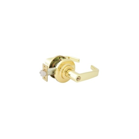 LSDA Grade 1 Heavy Duty Commercial Lever Set - Polished Brass